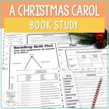 A Christmas Carol by Charles Dickens {A Novel Study}