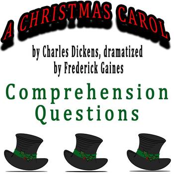 A Christmas Carol dramatized by Frederick Gaines - Compreh