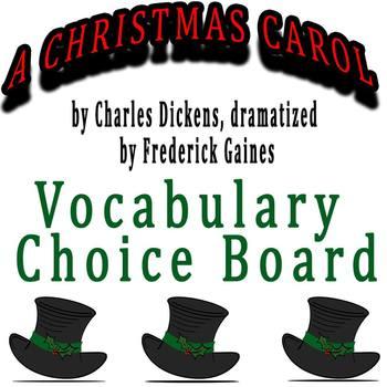 A Christmas Carol dramatized by Frederick Gaines - Vocabul
