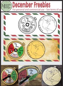 A Vintage Christmas & Polar Express December Freebie {Mess