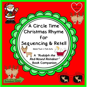 A Circle Time Christmas Rhyme -  Rudolph the Red-Nosed Rei