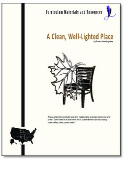 """""""A Clean, Well-Lighted Place""""editable, AP Style Passage Te"""