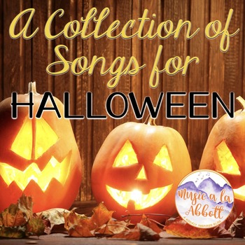 A Collection of Halloween Songs and PDFs