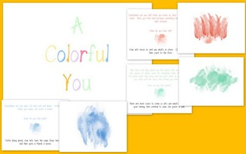 A Colorful You: A Colorful Book of Feelings