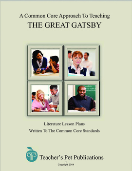 A Common Core Approach To Teaching The Great Gatsby - Less
