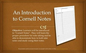 A Complete Guide to Cornell Notes with Printables and Pres