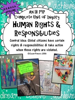 A Complete IB PYP Unit of Inquiry Human Rights and Respons