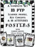 A Complete Set of  IB PYP Posters with Authors' Quotes