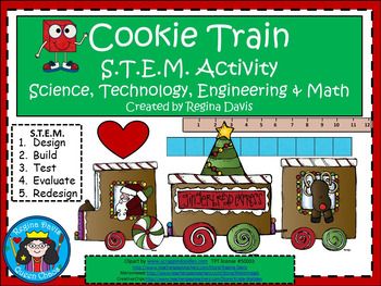 A+ STEM Cookie Train Activity...Science, Technology, Engin
