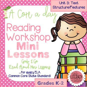 A Core a Day: Reader's Workshop Minilessons- Unit 3: Text
