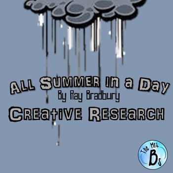 """A Creative Research Project for Ray Bradbury's """"All Summer"""