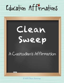 A Custodian's Affirmation (Professional Development)
