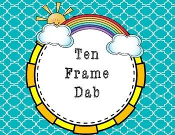 A Dab of Fun! Ten Frames.