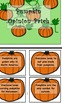 A Day With A Pumpkin Activity Packet