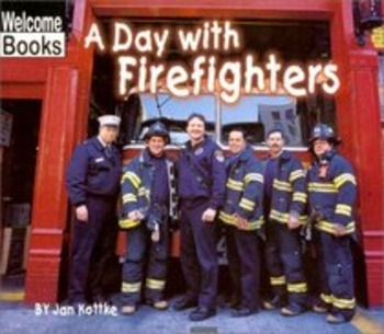 A Day With Firefighters - Story Visuals [speech therapy an