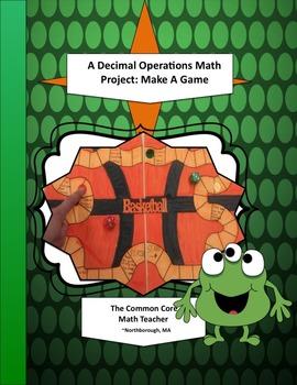 A Decimal Operations Math Project