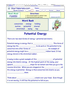 A Differentiated I-Cloze for iPads or Paper - Potential En