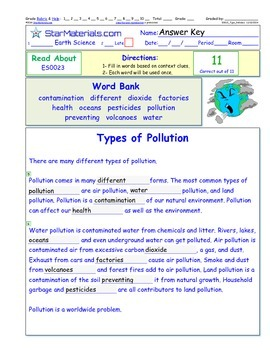 A Differentiated I-Cloze for iPads or Paper - Types of Pol