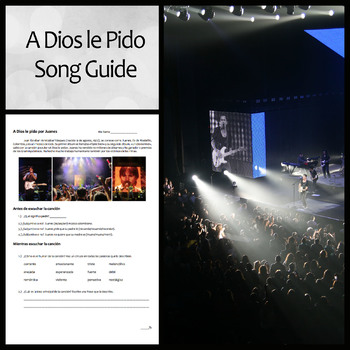 """A Dios le Pido"" Song Guide and Questions"