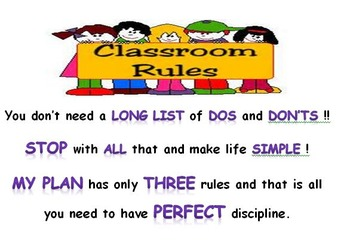 A Discipline Plan That Works