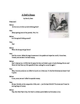 A Doll's House - Literary Text Test Prep