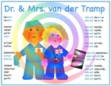 A Dr. & Mrs. van der Tramp poster plus 20 pages of support