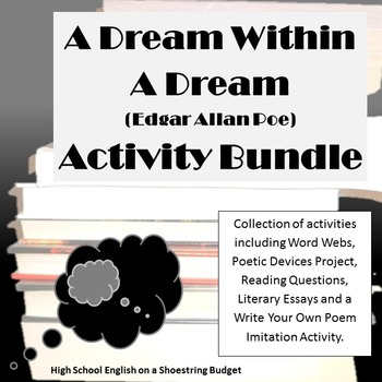 A Dream Within a Dream Activity Bundle (E.A. Poe) Word