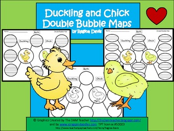 A+ Duckling & Chick:  Double Bubble Maps