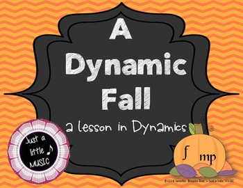 A Dynamic Fall - A lesson to teach dynamics