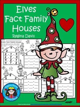 A+ Elves: Fact Family Houses