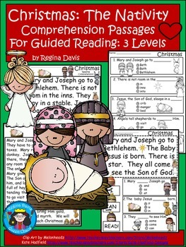 A+ Christmas Nativity...Differentiated Instruction For Gui