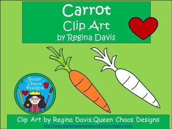 A+ Carrot Clip Art