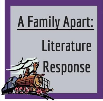 A Family Apart: Literature Writing Response