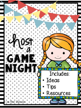 https://www.teacherspayteachers.com/Product/A-Family-Event-Host-a-Game-Night-2696680