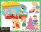 A Family Summer Christmas - Southern Hemisphere Clip-Art