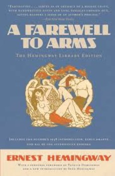 A Farewell to Arms Book II Hemingway Forum /Group /Discuss