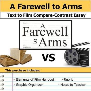 A Farewell to Arms - Text to Film - Compare and Contrast E