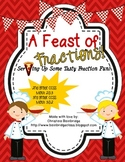 A Feast of Fractions Classroom or Hallway Hunt- CCSS Geome