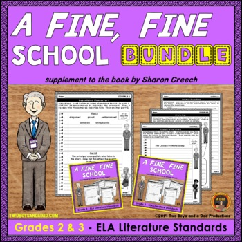 A Fine Fine School Literature Standards Support Pages Comb
