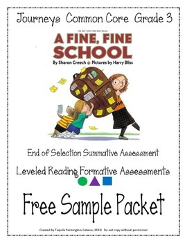 A Fine, Fine School - Journeys Common Core - Grade 3