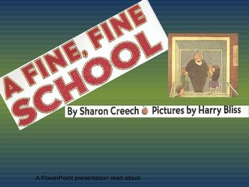 A Fine, Fine School Powerpoint Read Aloud