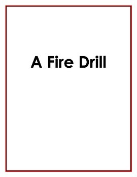 A Fire Drill Social Story