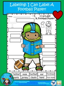 A+ Football Player....Labels!