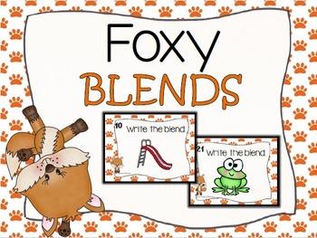 Foxy Blends Task Cards Set