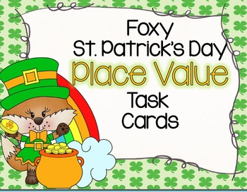 Foxy Place Value Task Cards