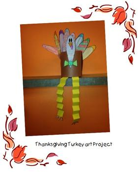 A Fun Thanksgiving Turkey Art Project
