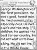 A+ George Washington Comprehension:Differentiated Instruct