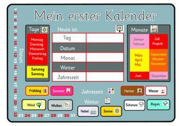 A German calendar . A3