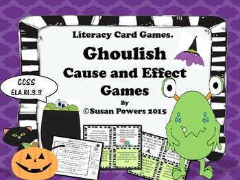 A Ghoulish Game of Cause and Effect for Interactive Litera