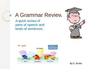 A Grammar Review